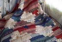 Traditional quilts / Sometimes so modern!