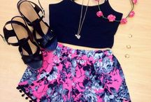 Summer outfits ♡