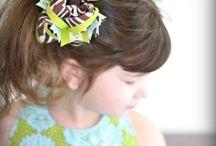 Hair bows and bands