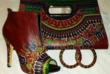 African print accessories