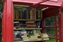 Little Libraries / I heart Little Libraries. Books + community + urban beauty = amazing.
