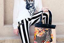 Happy Zebra Tote