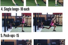 TRX workouts / by Melissa Ann
