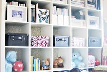shelving / storage / by Contessa Parker