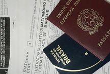 Cidadania italiana / Relatos do processo de reconhecimento da minha cidadania italiana.
