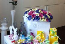PASQUA / Segnaposto, centrotavola, originali regali per i tuoi ospiti... La tua tavola di Pasqua non è mai stata così bella!