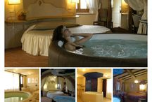 Tuscany photo collage / Tuscany photo collage of accommodations and places.