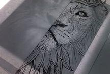 Løve tatto