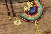 Wire & Waxed Cotton Jewelry
