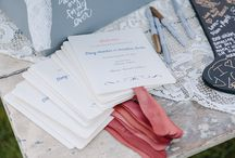 Stationery by KMD / Customized stationery and paper products created for our clients!