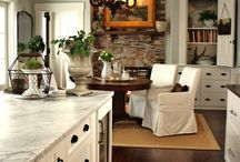 Living/Family Rooms / by Ginger Searle