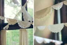 Bunting Ideas / by Charlotte Stockton