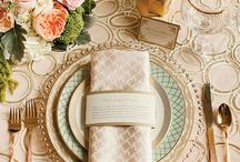 Wedding tablescapes / by Gwynn Butterfield