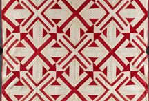 Quilts -red & white