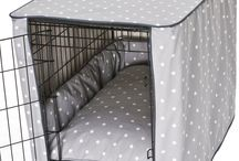 Собачьи товары: Чехлы на клетку, гамаки