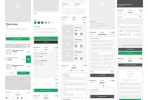 Good Wireframe & UI Material