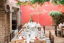 Mexican-Style Rehearsal Dinner / Sara & Will Mexican-Style Rehearsal Dinner | Coordination: Lynette Dow for Amy Abbott Events | Location: Tres Gallos | Hair and Make-up: Blanc Bridal Salon by Neysa Quintana | Photography: Jimmy Bishop of Gideon Photo