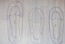 валяные тапочки