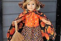 Halloween dolls and Halloween doll clothes