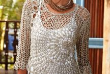blusa crochet con patron