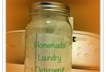 Cleaning~ Homemade Supplies! / by Gina Strickland