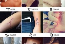 Зодиак татуировки
