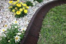 Make Rasenkante in the garden – A selection of materials