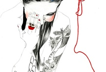 Fashion Illustration / by Camille Shirley