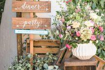 Outdoor Farmhouse Wedding
