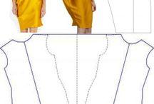 moda šaty moletky
