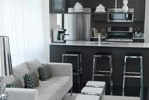Living / kitchen combo