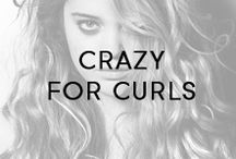 Crazy for Curls / We love big, small, round, kinky and bouncy curls of all kinds!