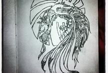 My Sketchbook 2013 / Drawings from my sketchbook. My own work.