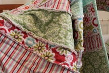 Flannel rag quilts / by Amie Eldred