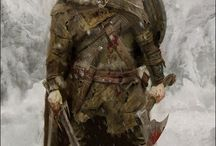 Leather/Metal War Armor