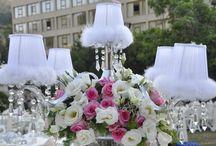 Çiçekler içinde bir düğün.. / Düğün, organizasyon, davet