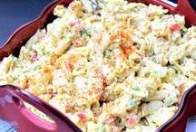 Pasta salad junkfood
