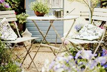 She Sheds / Get inspired by these gorgeous she sheds and create your very own backyard getaway.