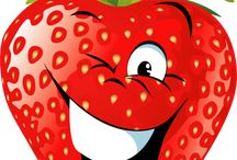 Mosolygó zöldségek, gyümölcsök
