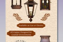 """The Coppersmith / """"At The CopperSmith, it is our goal to provide the finest selection of the highest quality copper lanterns available. With our custom design and manufacturing capabilities, unsurpassed customer service, and a determination to exceed the customer's expectations with every order, The CopperSmith has established itself as a leader in today's gas fixture Industry. """"  Bill Green, CEO"""