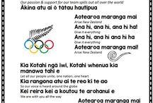 Ana hī words to waiata for 2016 Olympics