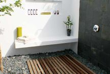 Outside shower ideas