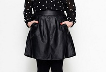 Lusting for Plus size Leather  / by The Curvy Fashionista