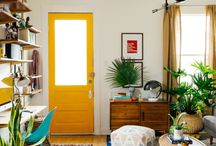 yellow door inspiration