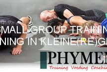 Small Group Training / Small Group Training Training in een kleine(re) groep. Samenstelling 3-6 personen. Effectieve training bij Phymenso
