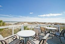 Ocean Front Rentals / Oceanfront Cottage Rentals are known for our ocean front properties! Any where from 1 bedrooms to 6 bedrooms! Accommodating a small get away or enough space for the entire family!