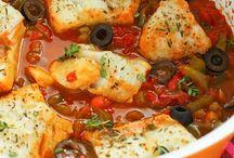 poissons et crustaçés