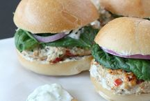 Food {burgers/sandwiches}