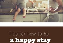 Happy at home / I'm a work at home mum, so I mix working for myself with staying at home. Here are some blog posts that offer tips on being happy at home.