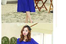 Blue Ruffle Dress 2